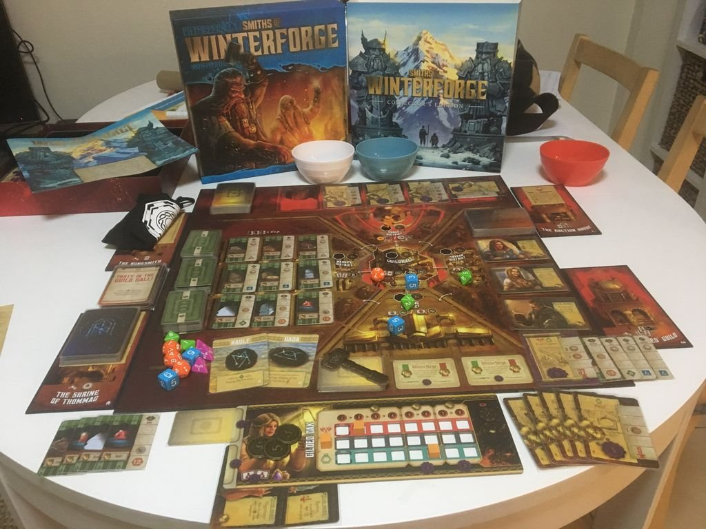 Smiths of Winterforge components