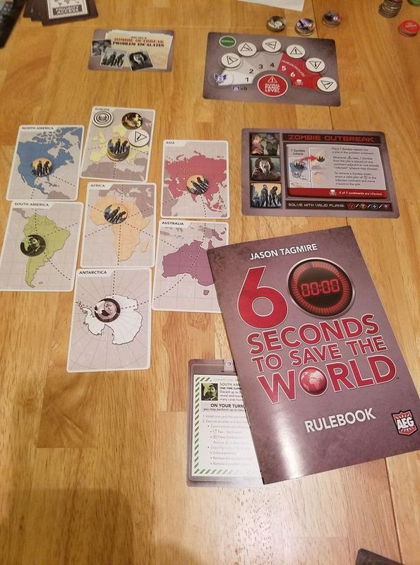 60 Seconds to Save the World components