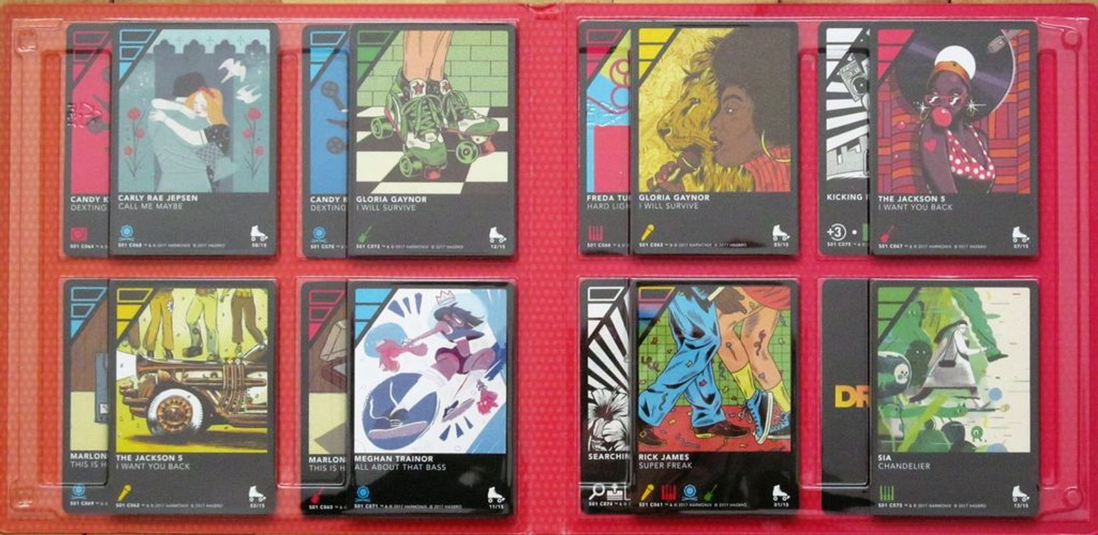 DropMix: Pop Playlist Pack (Derby) cards