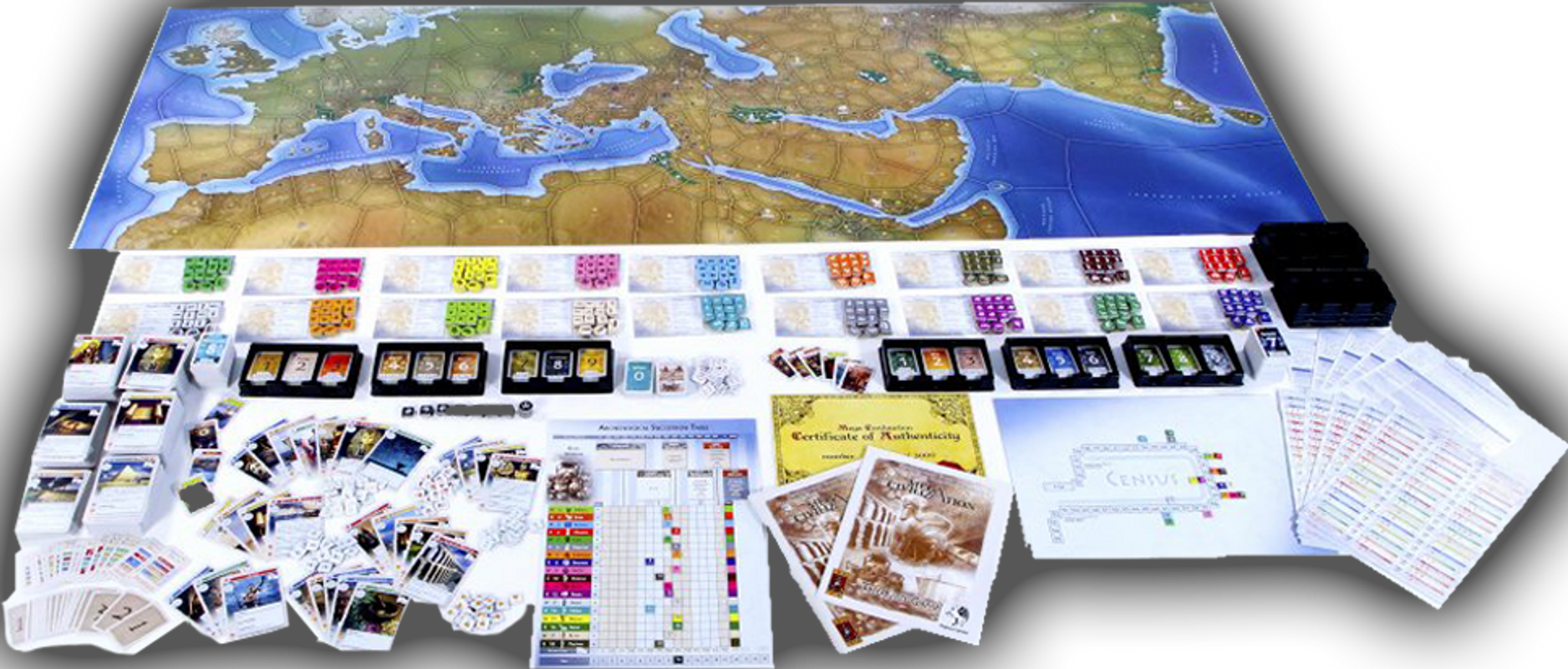Western Empires components