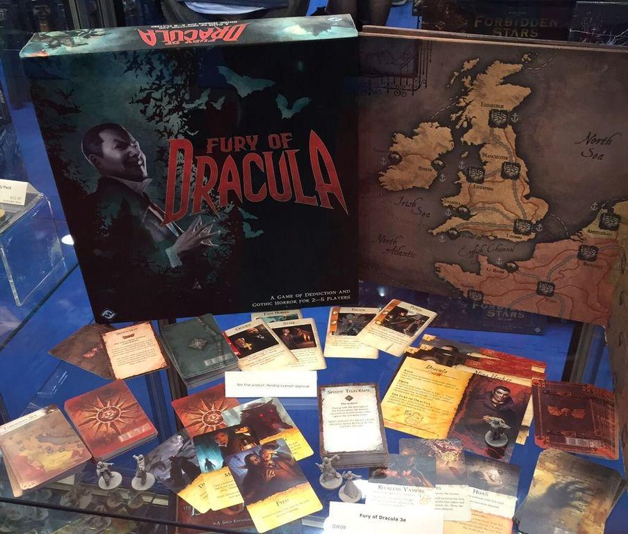 Fury of Dracula components