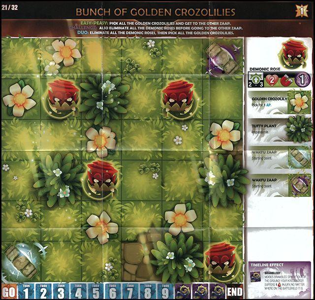 Krosmaster: Arena - Percimol Rules components