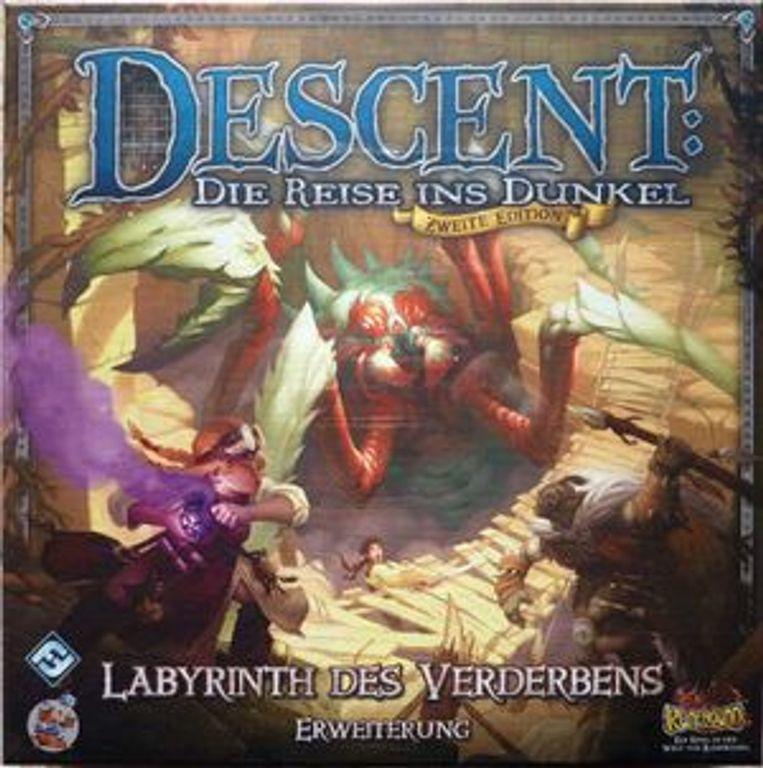 Descent%3A+Die+Reise+ins+Dunkel+%28Zweite+Edition%29+-+Labyrinth+des+Verderbens