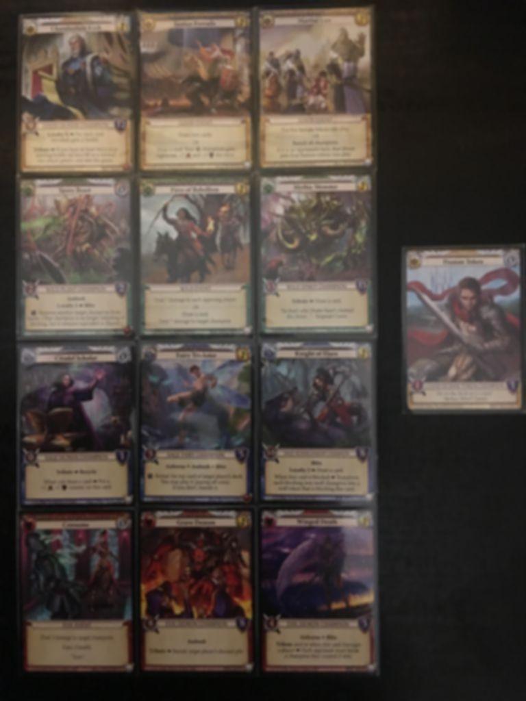 Epic Card Game: Uprising - Kark's Edict cards