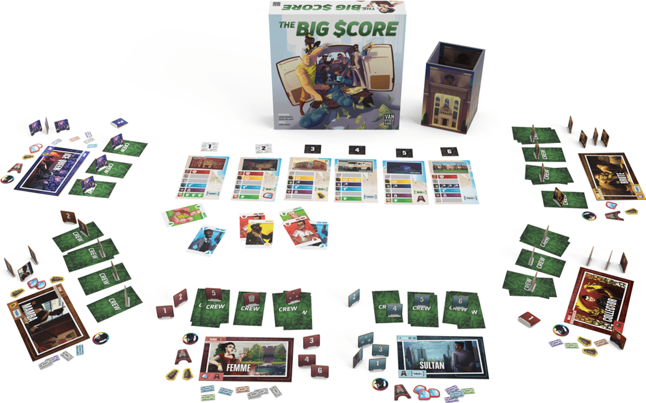 The Big Score components