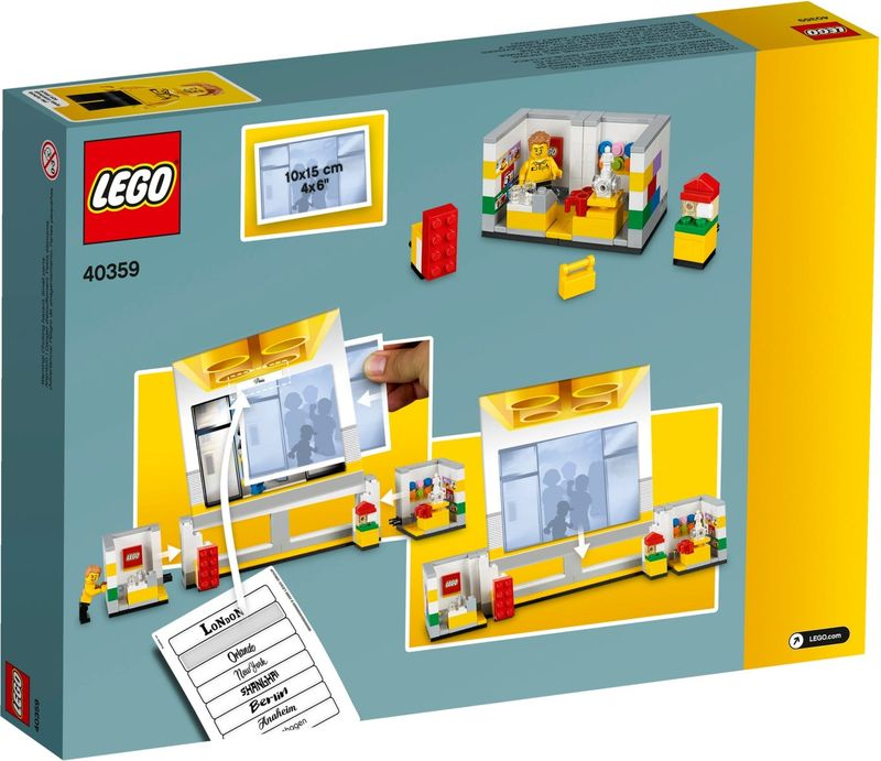 LEGO® Promotions Store Picture Frame back of the box