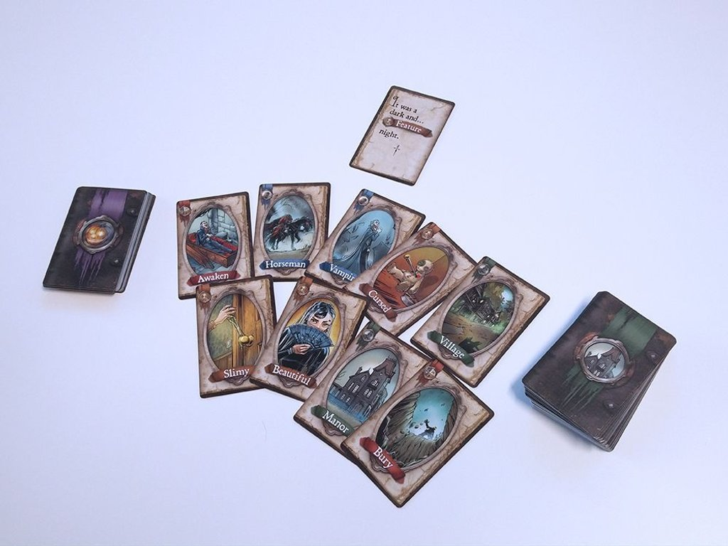 StoryLine: Scary Tales cards
