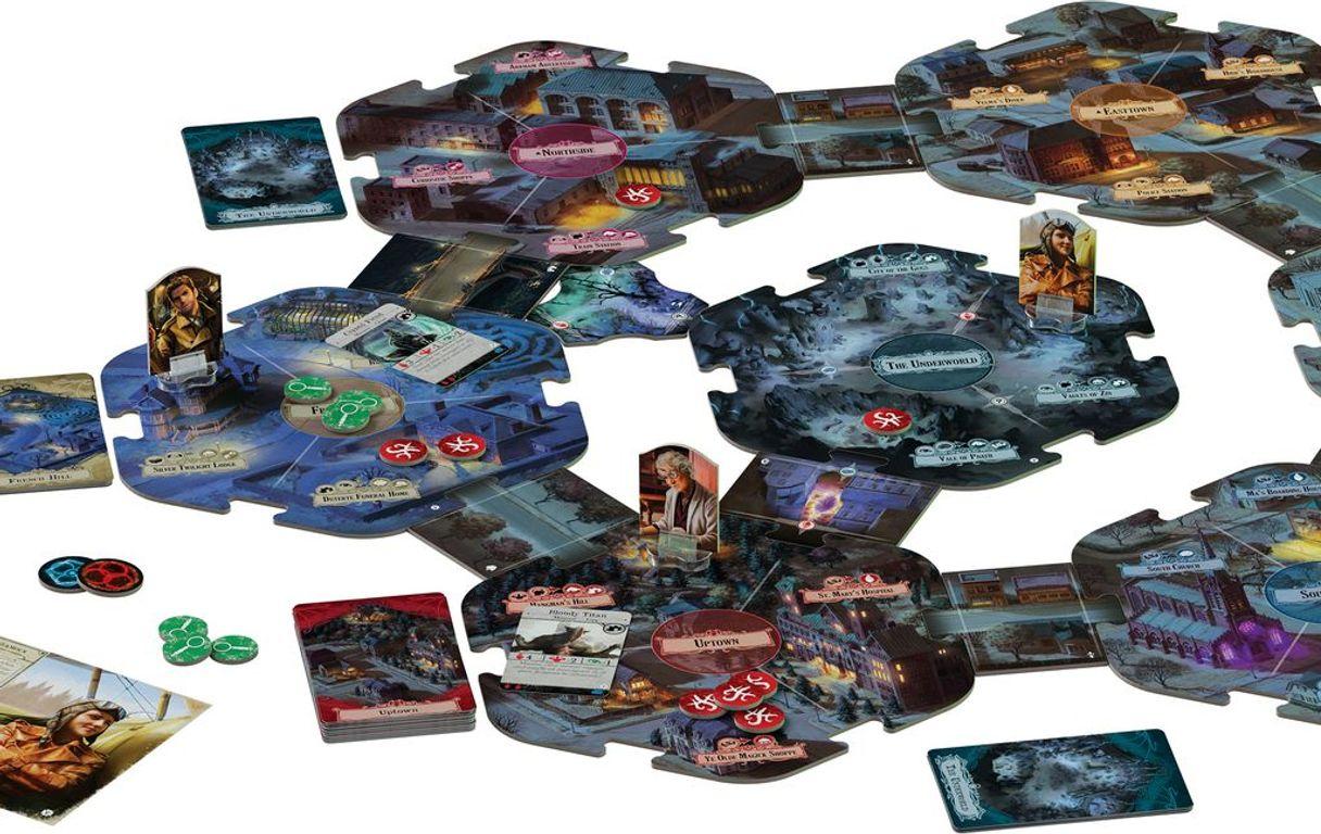 Arkham Horror (Third Edition): Secrets of the Order gameplay
