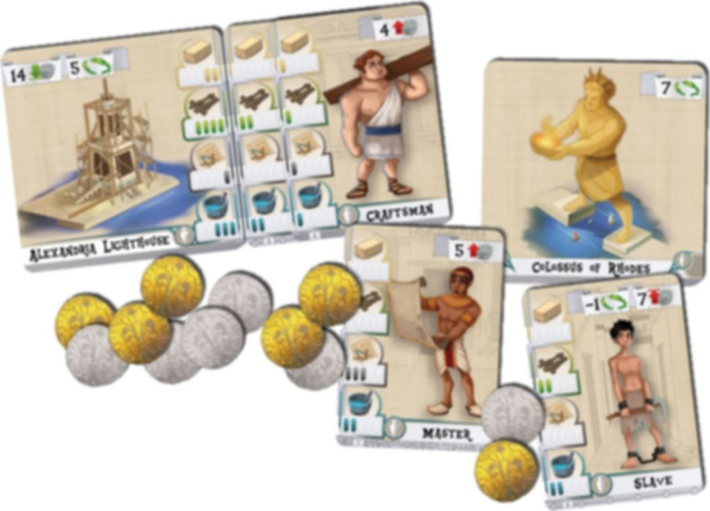 The Builders: Antiquity components