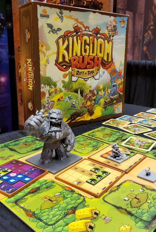 Kingdom Rush:  Rift in Time components
