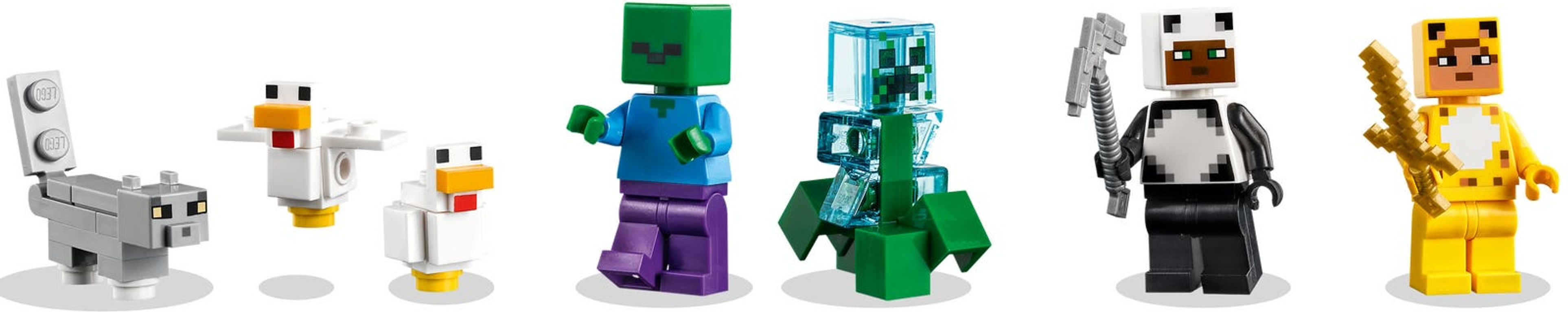 LEGO® Minecraft The Modern Treehouse minifigures