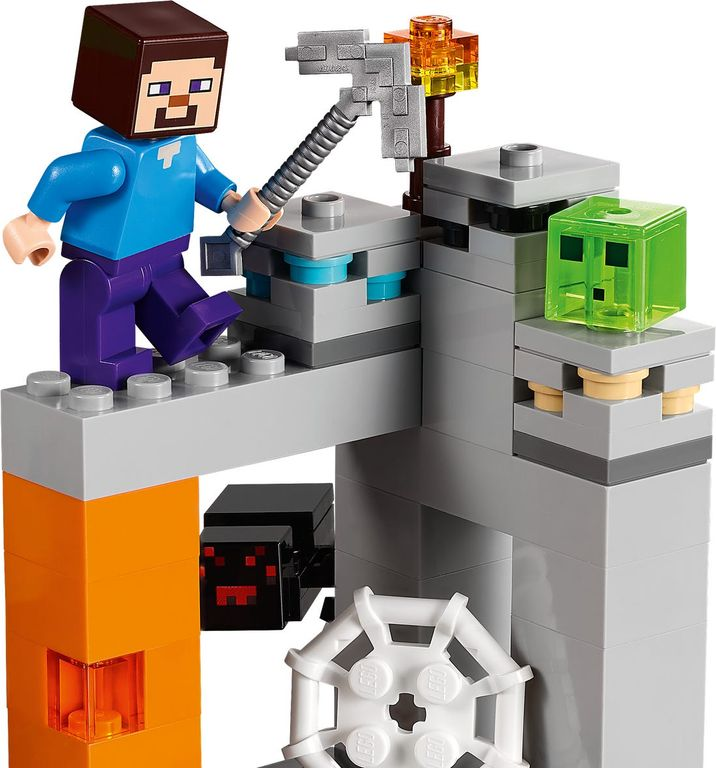 """LEGO® Minecraft The """"Abandoned"""" Mine components"""
