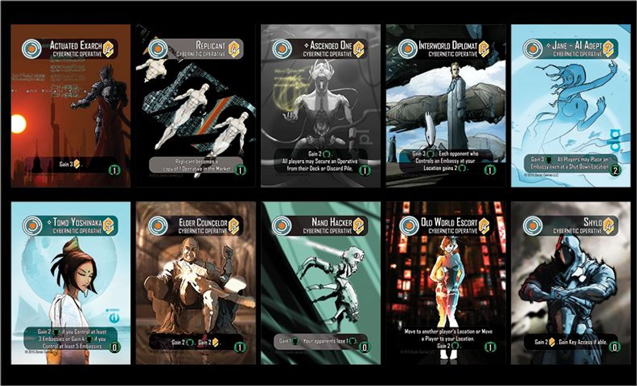 Helionox: Deluxe Edition cards