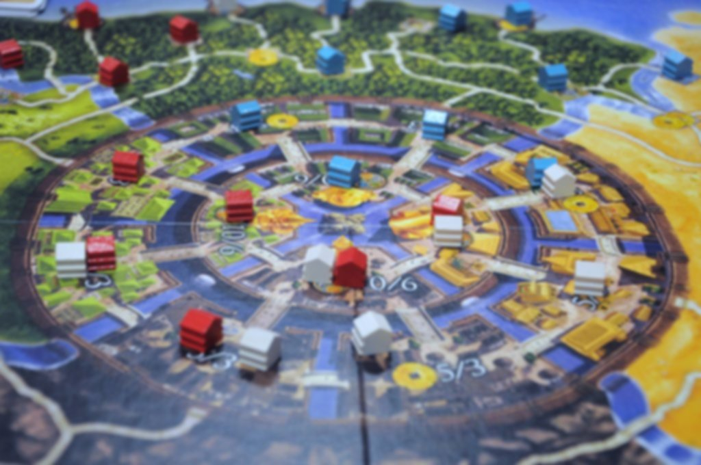 The Golden City gameplay