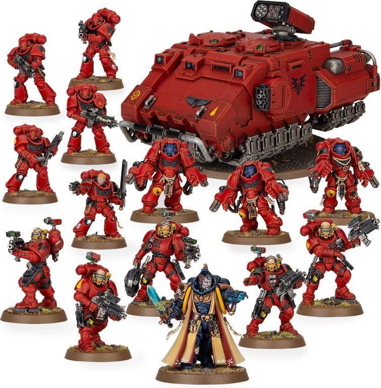 Warhammer 40.000 Combat Patrol: Blood Angels miniatures