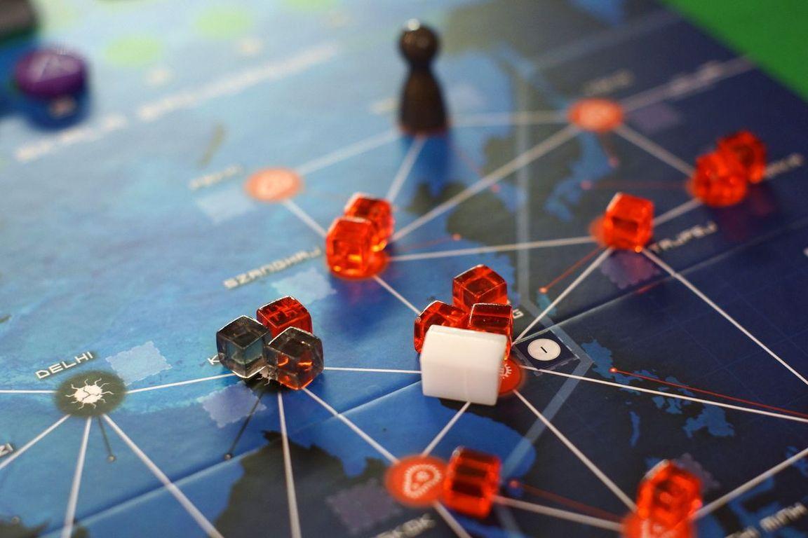 Pandemic Legacy Season 1 - Red Edition gameplay