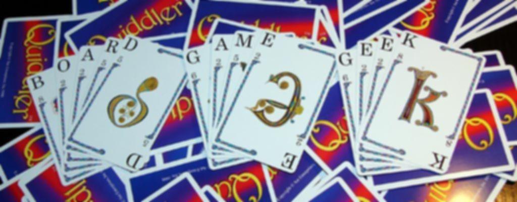 Quiddler cards