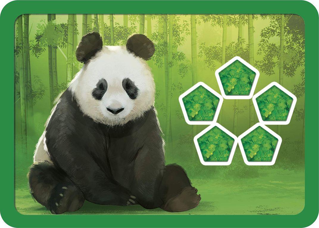 Planet animals card