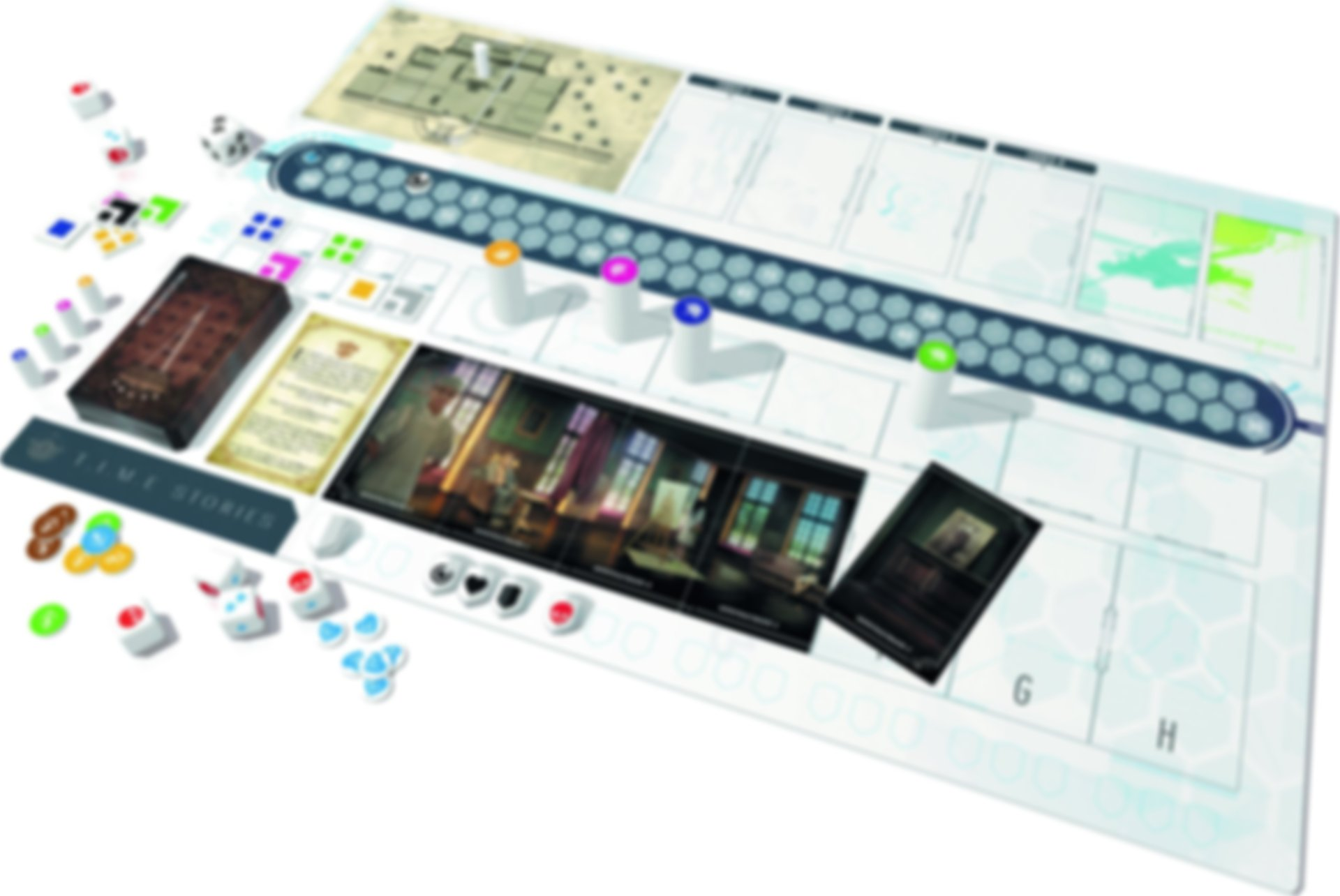 T.I.M.E Stories gameplay