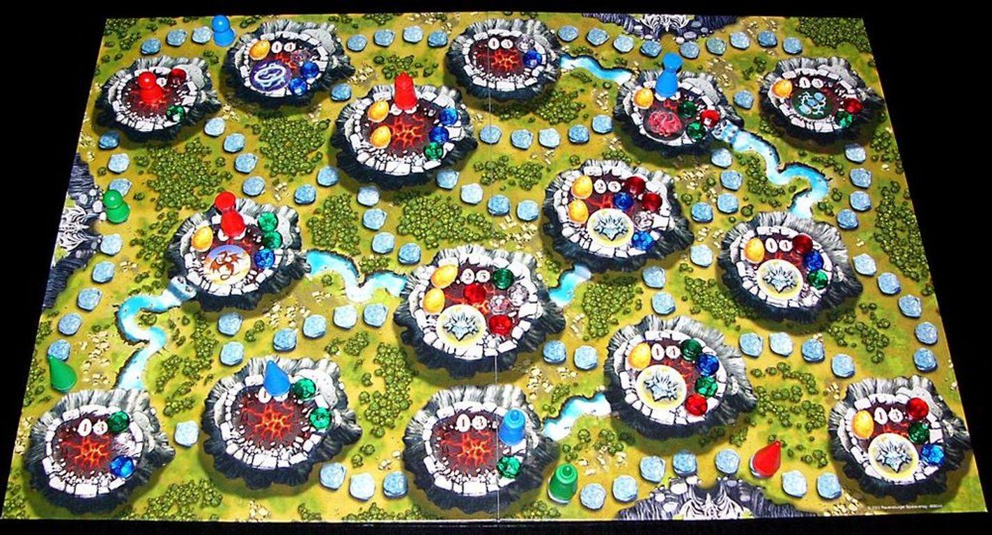 Dragonland game board