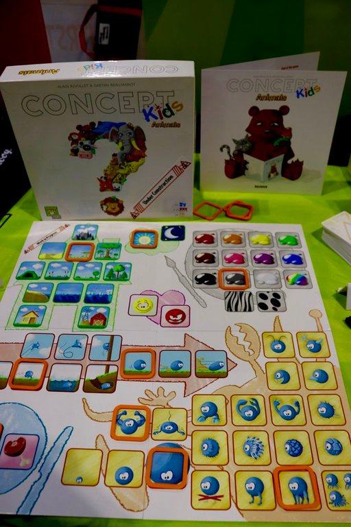 Concept Kids: Animals components