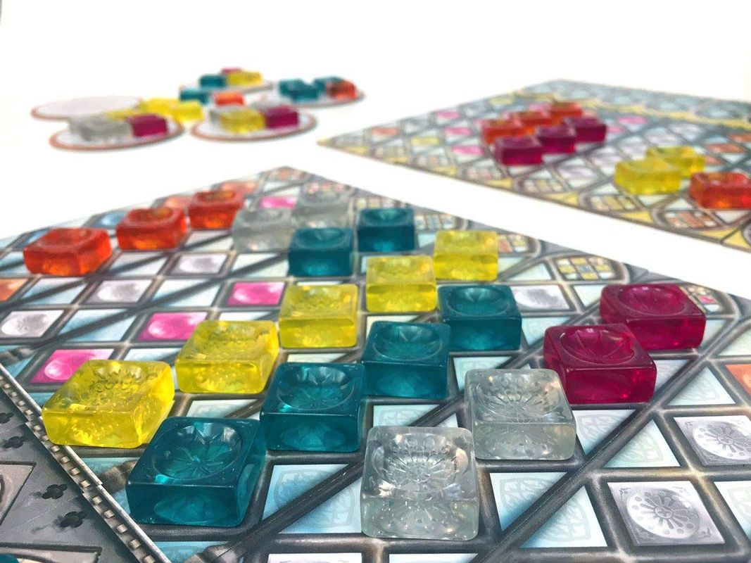 Azul: Stained Glass of Sintra components