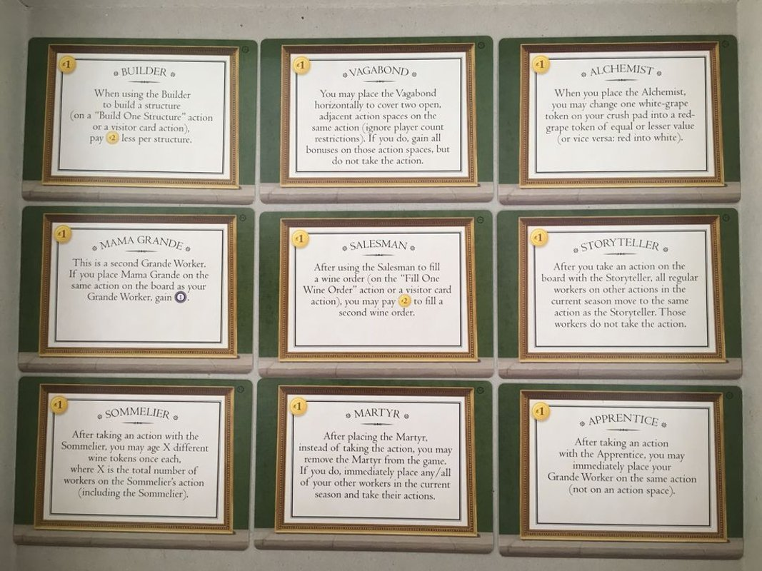 Tuscany Essential Edition cards