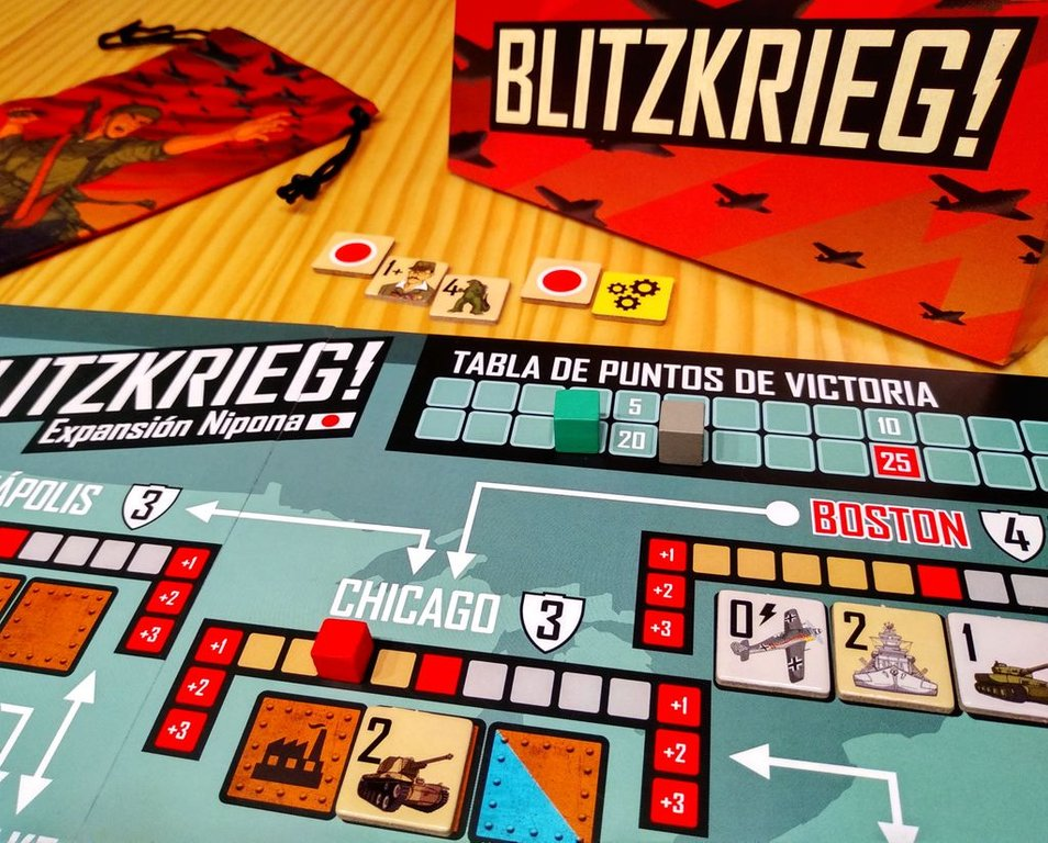 Blitzkrieg!: Nippon Expansion gameplay
