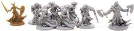 Massive Darkness: Enemy Box - Reptisaurians miniatures
