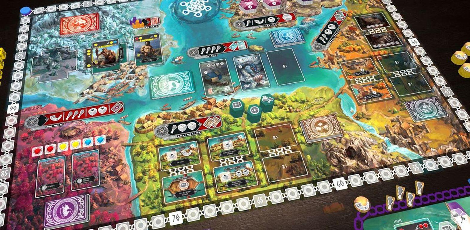 Reavers of Midgard game board