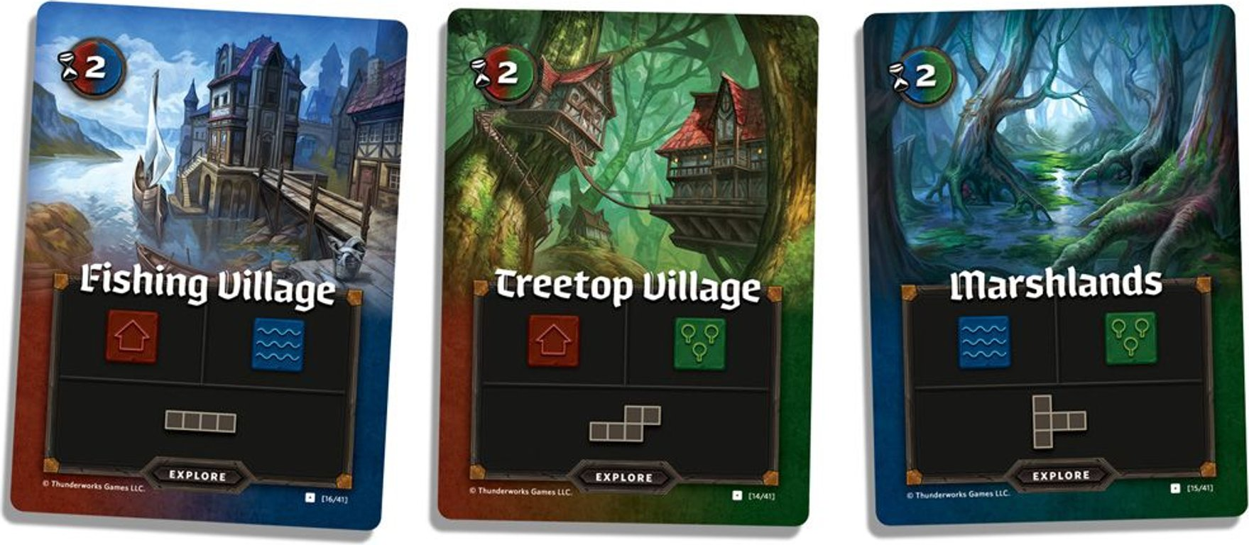 Cartographers: A Roll Player Tale cards