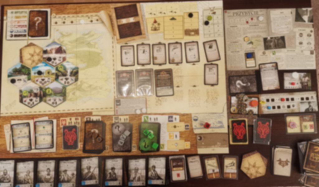 Robinson Crusoe: Mystery Tales components
