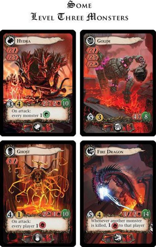 Lost Legends cards