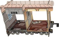 Colt Express: Marshal & Prisoners components