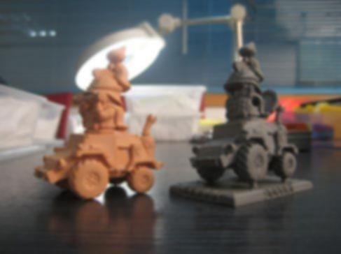 Rivet Wars: War Room miniatures