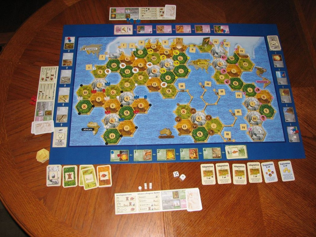 The Settlers of the Stone Age components