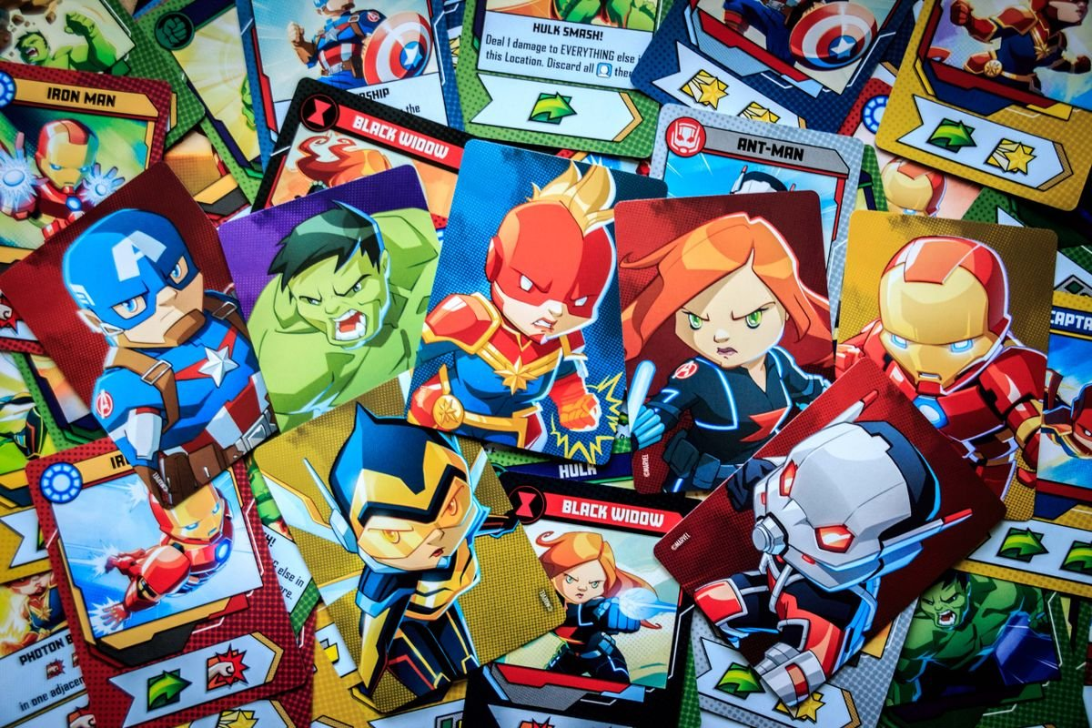 Marvel United cartes