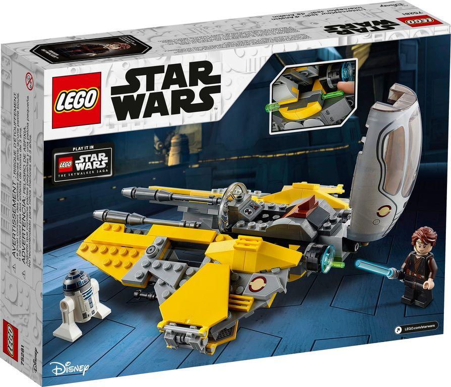 Anakin's Jedi™ Interceptor back of the box