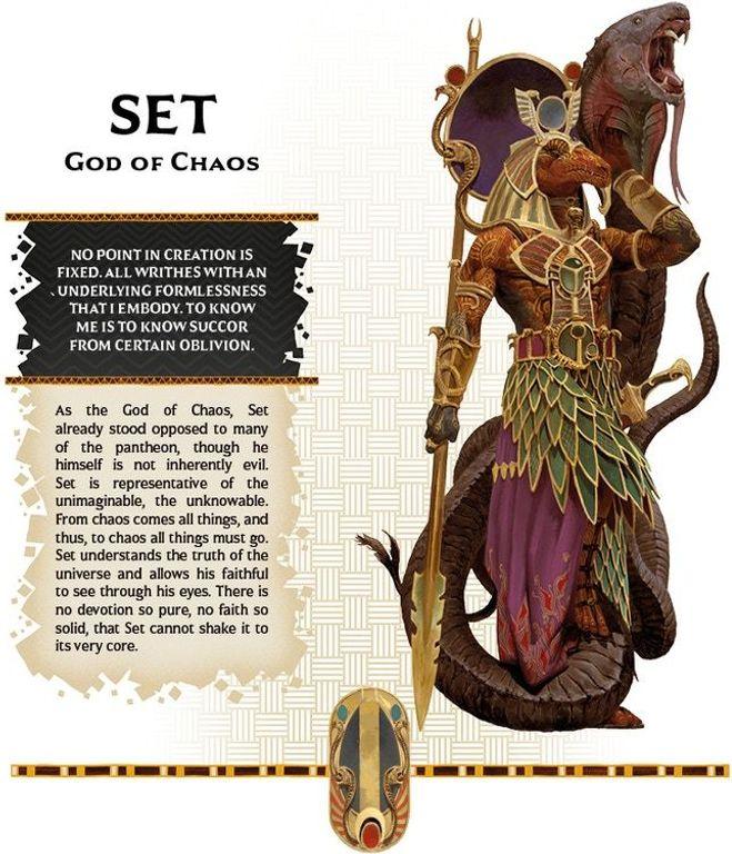 Ankh: Gods of Egypt – Pantheon Set
