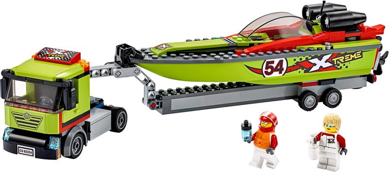 Race Boat Transporter components