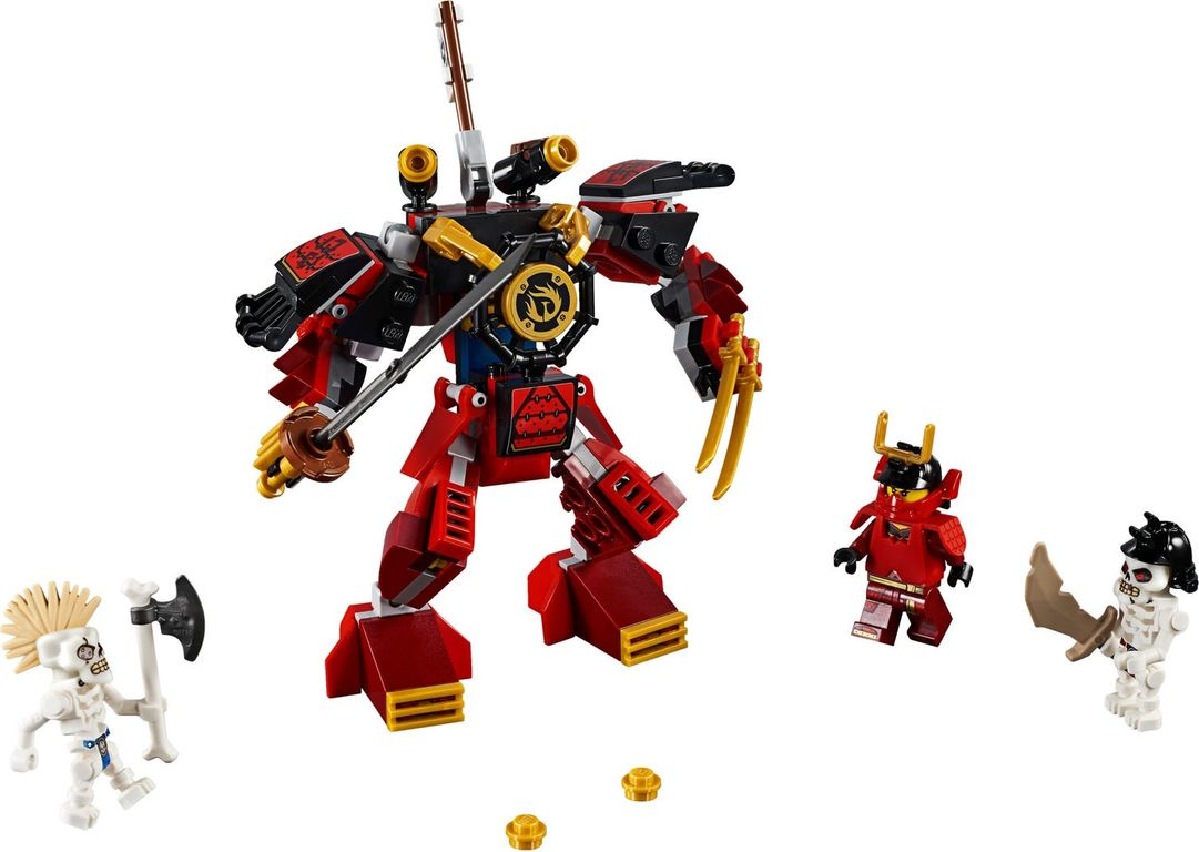 LEGO® Ninjago The Samurai Mech components