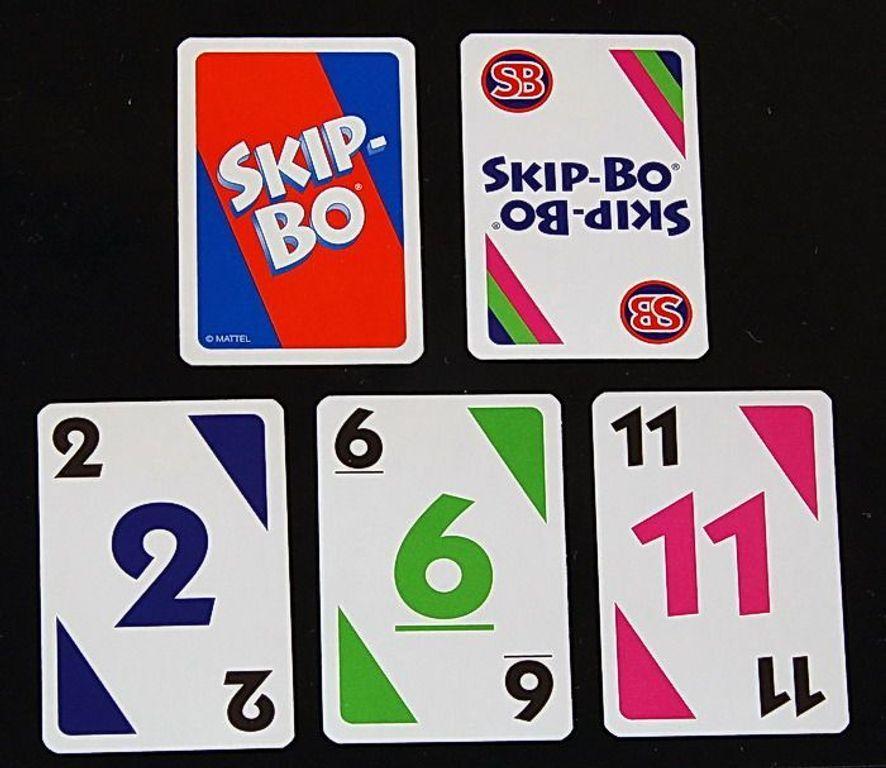 Skip-Bo cards