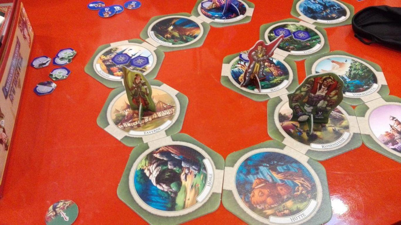 Talisman: Legendary Tales gameplay