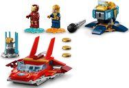 LEGO® Marvel Iron Man vs. Thanos components