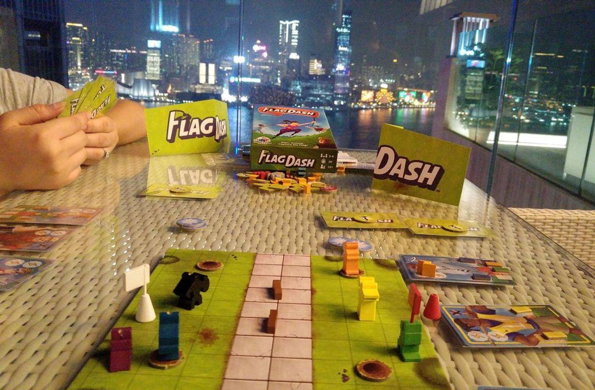 Flag Dash partes