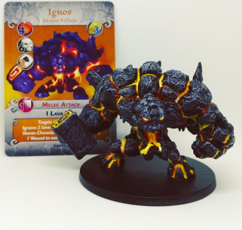 Arcadia Quest: Inferno - Whole Lotta Lava miniature