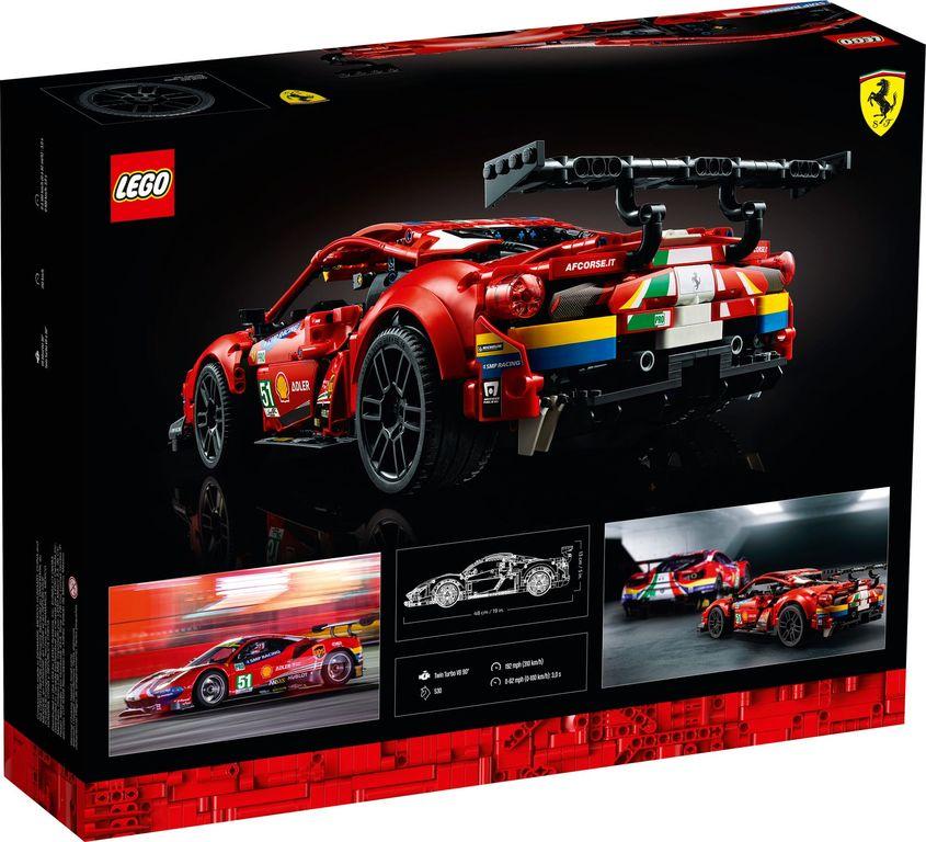 """Ferrari 488 GTE """"AF Corse #51"""" back of the box"""
