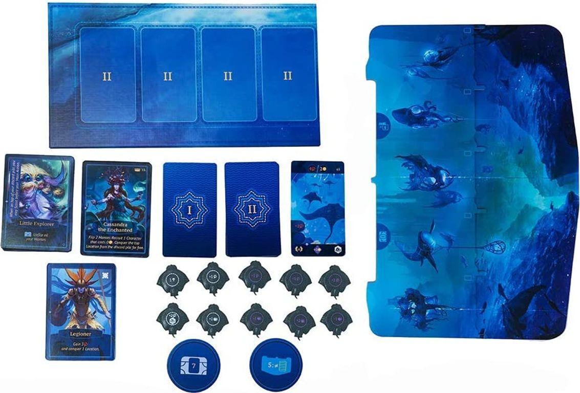 Aquatica: Cold Waters components