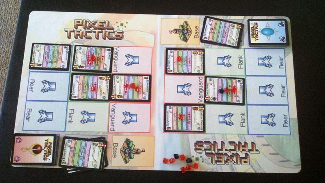 Pixel Tactics gameplay