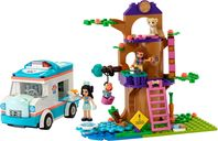 LEGO® Friends Vet Clinic Ambulance components